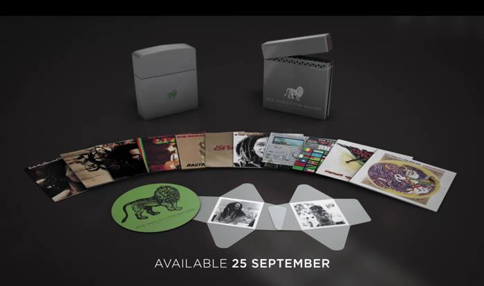 Llega una caja con la discografía de Bob Marley en Island en vinilo