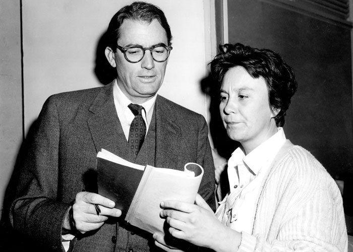 Gregory Peck y Harper Lee
