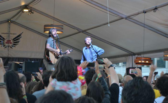 Iván Ferreiro y Xoel López