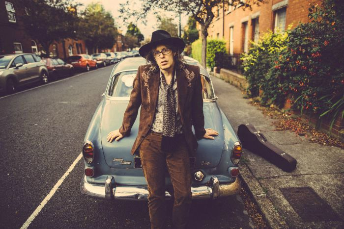 Mike Scott (The Waterboys). Potraits in Dublin, Ireland by Dara Munnis.