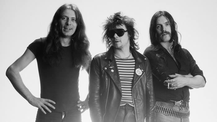 """Motörhead (Phil """"Philthy Animal"""" Taylor, en el centro)"""