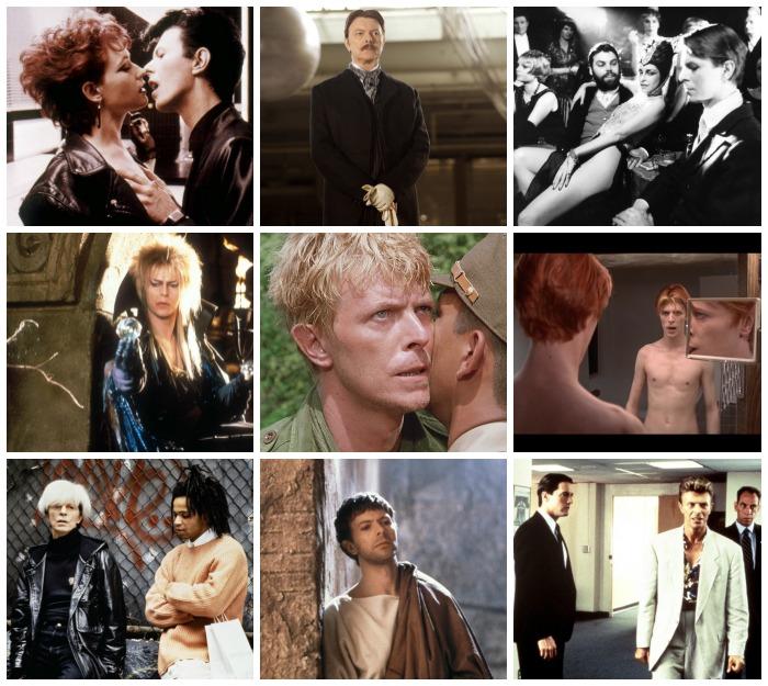 Las otras caras de Ziggy Stardust: David Bowie en el cine