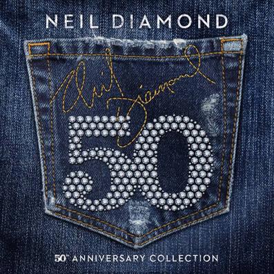 CD Neil Diamond 50th Anniversary Collection (Album)  Neil-diamond-26-01-17