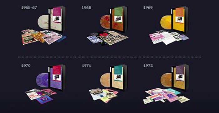 """Así son """"The Early Years, 1965 - 1972: The Individual Volumes"""" de Pink Floyd"""