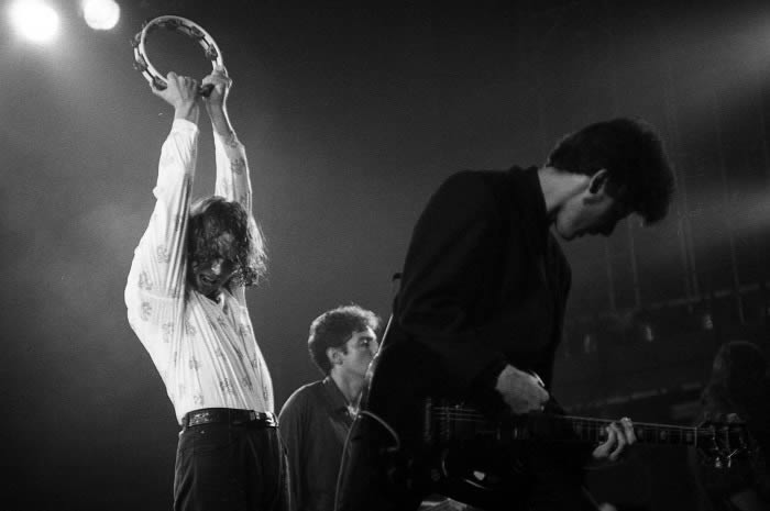 091 en directo en 1989, por Xavier Mercadé.
