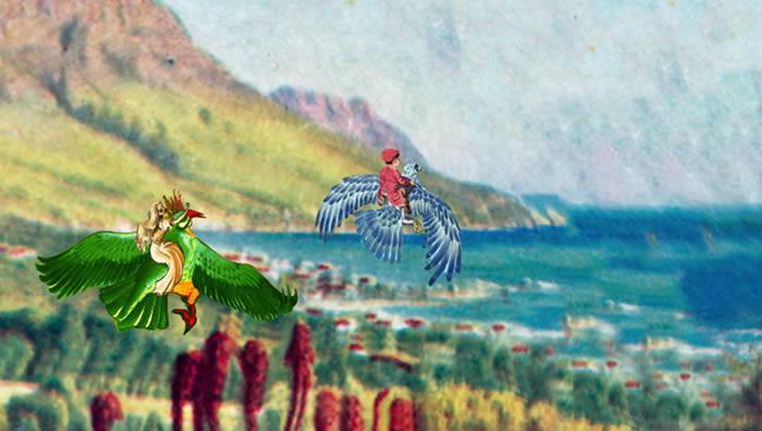 'Bluebirds Over The Mountain', vídeo de Robert Plant (con Chrissie Hynde)
