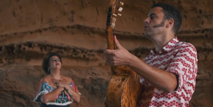 'Somos viento', vídeo de Amparanoia con Depedro