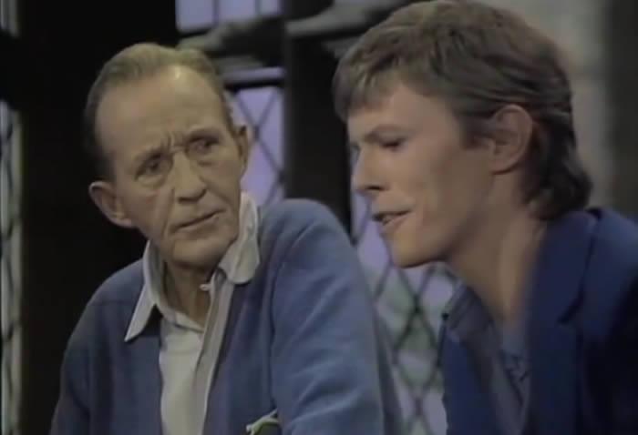 Recordando a David Bowie y Bing Crosby cantando 'The Little Drummer Boy'