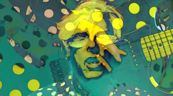 'Autumn Sunglasses', vídeo de Robyn Hitchcock, con Gillian Welch