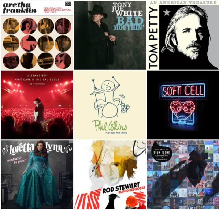 Lanzamientos discográficos 28-09-18