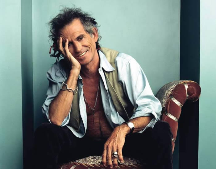 Keith Richards de The Rolling Stones dejó el alcohol