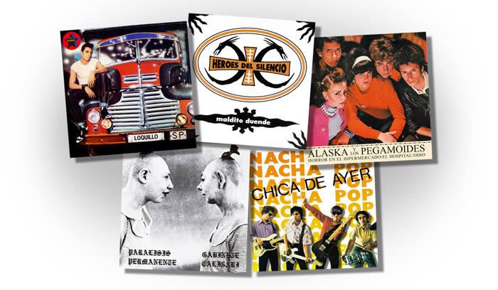 Se reeditan en vinilo cinco singles fundamentales del pop español
