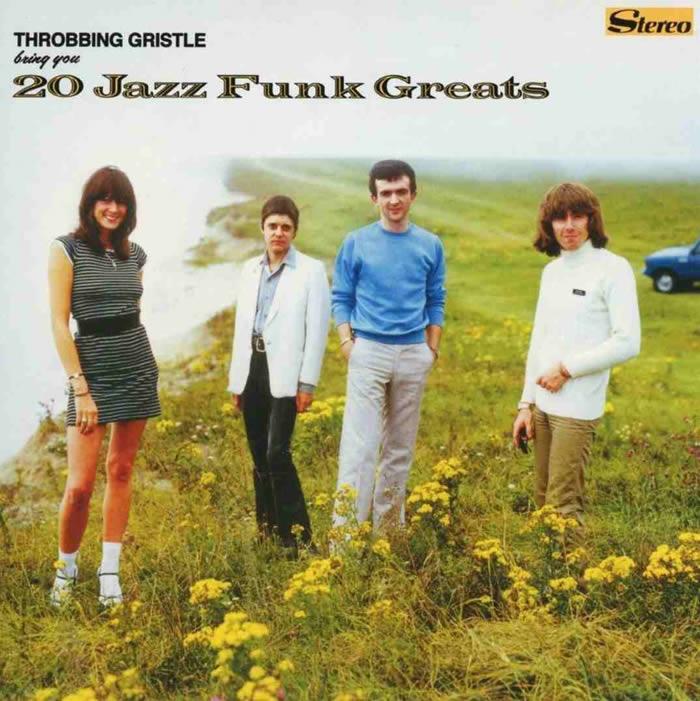 Throbbing Gristle (Genesis P-Orridge es el segundo por la izquierda).