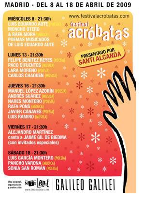 Edición madrileña del Festival Acróbatas