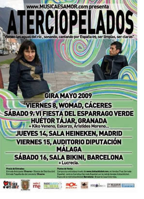 Aterciopelados regresan a España