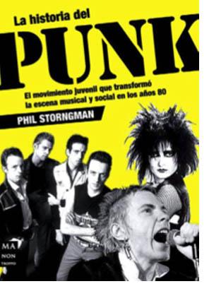 La historia del punk en un libro