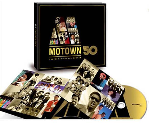 Tres CDs con las 50 canciones de Motown preferidas por los internautas españoles