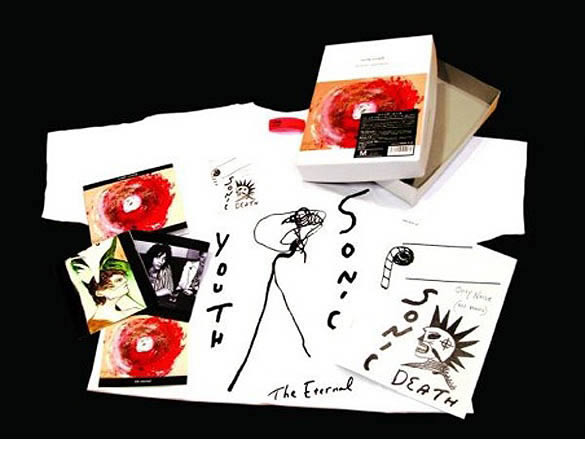 Edición japonesa del nuevo disco de Sonic Youth