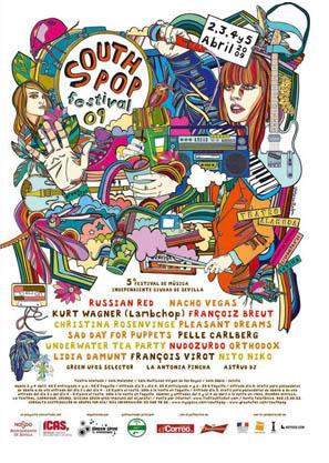 Nueva edición del South Pop Festival de Sevilla