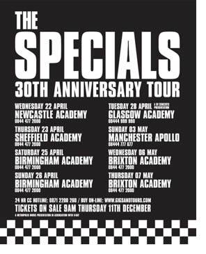 Arranca la gira del treinta aniversario de The Specials