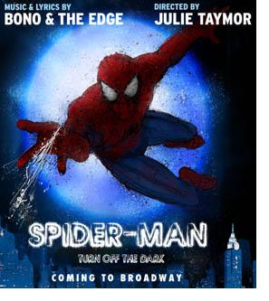Spiderman, en Broadway, con letra y música de U2