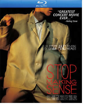 Stop Making Sense, de Talking Heads, en Blu-ray
