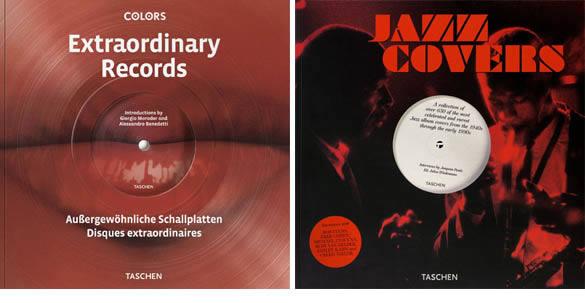 Dos libros de Taschen seleccionan portadas de discos