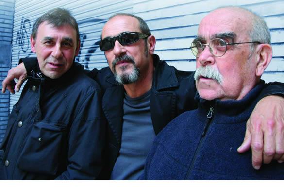 Labordeta, Carbonell y La Bullonera presentan en directo su ¡Vaya tres!