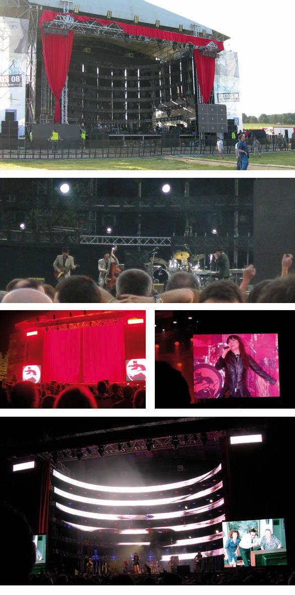 Con Dylan y Amaral en el backstage