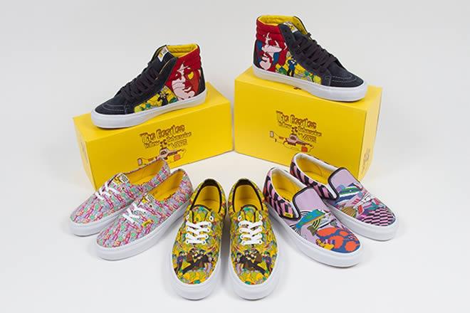 """Vans ha creado unas zapatillas basadas en el """"Yellow Submarine"""" de los  Beatles 6e20dade5ae"""