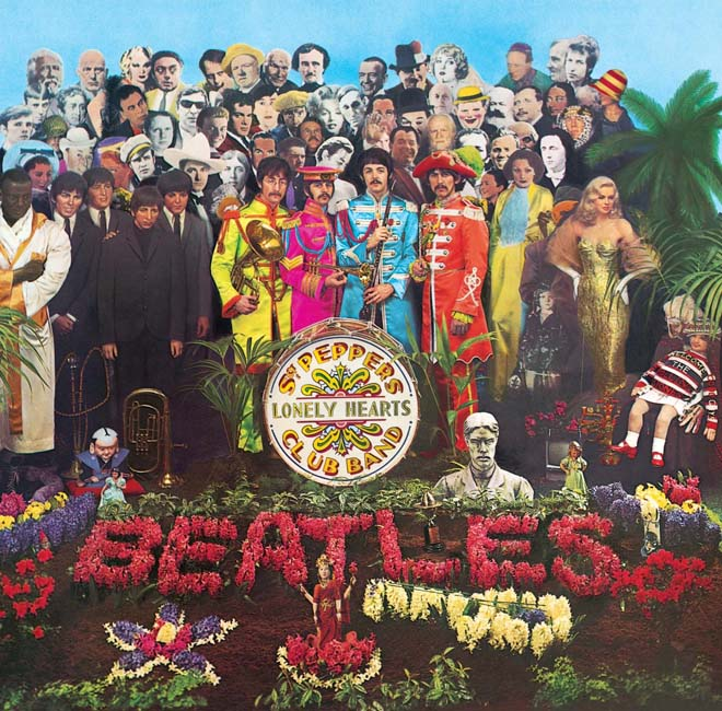"Las mejores portadas del rock: The Beatles, ""Sgt. Pepper's Lonely Hearts Club Band"""