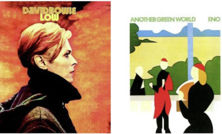 <i>Low</i> y <i>Another green world</i>, los álbumes que unieron a Bowie y Eno