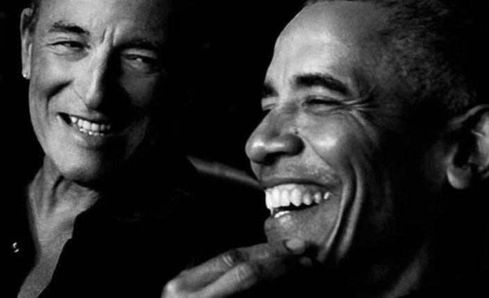 Obama y Bruce: dos cabalgan juntos