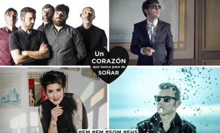 Estreno: vídeo benéfico de José Antonio García, Lichis, Amparo Sánchez y El Hombre Garabato