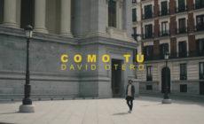 """David Otero presenta el vídeo de """"Como tú"""""""