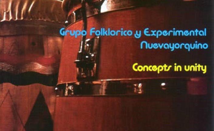 <i>Concepts in unity</i> (1975), de Grupo Folklórico y Experimental Nuevayorquino