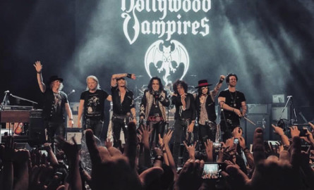 Los Hollywood Vampires muerden Roma