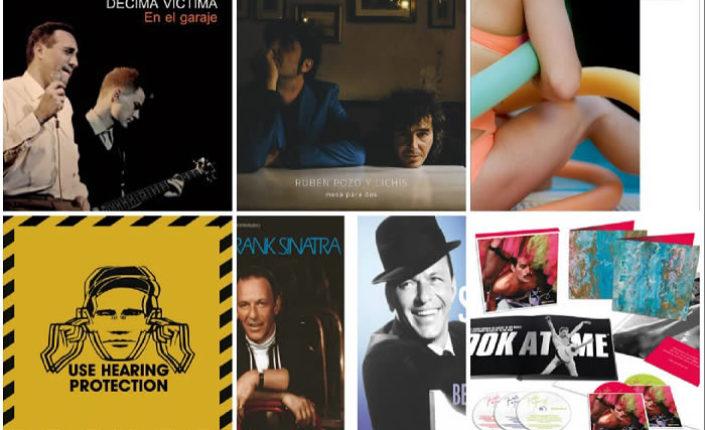 Lanzamientos discográficos: 11 de octubre