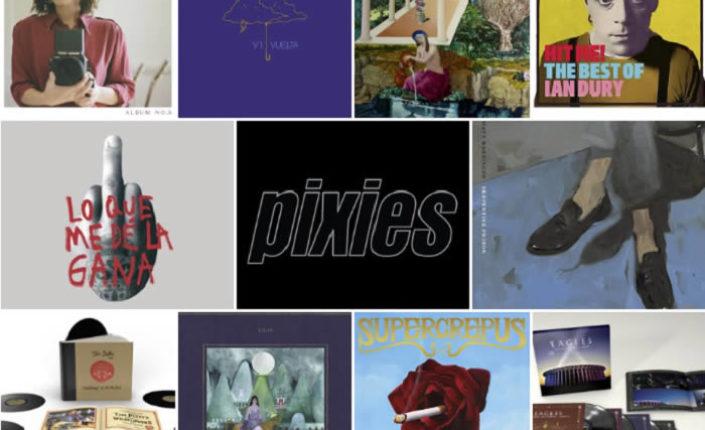 Lanzamientos discográficos: 16 de octubre