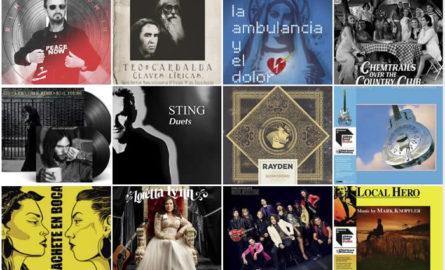 Lanzamientos discográficos: 19 de marzo