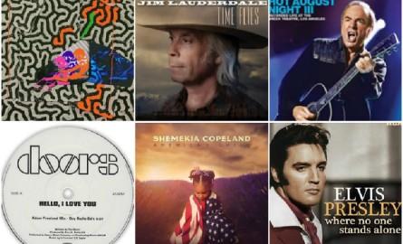 Primeros lanzamientos discográficos de agosto