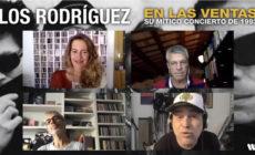 Los Rodríguez: así fue la charla en vídeo de Calamaro, Rot y Vilella