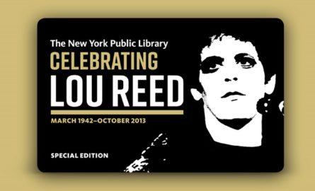 Los tesoros públicos de Lou Reed