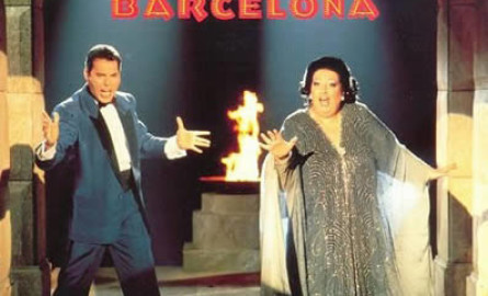 """""""Barcelona"""" (1988), de Freddie Mercury y Montserrat Caballé"""