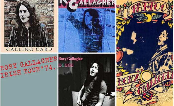 Cinco discos para descubrir a Rory Gallagher