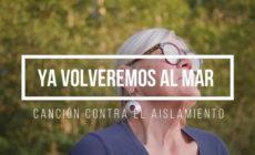 """Vídeo: Vicky Gastelo estrena canción contra el aislamiento, """"Ya volveremos al mar"""""""