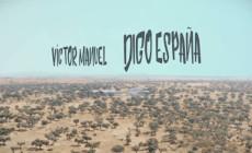 Víctor Manuel presenta el vídeo de 'Digo España'