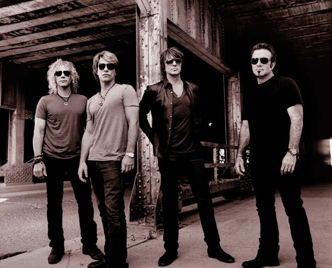 Bon Jovi - 2014 Press Shot