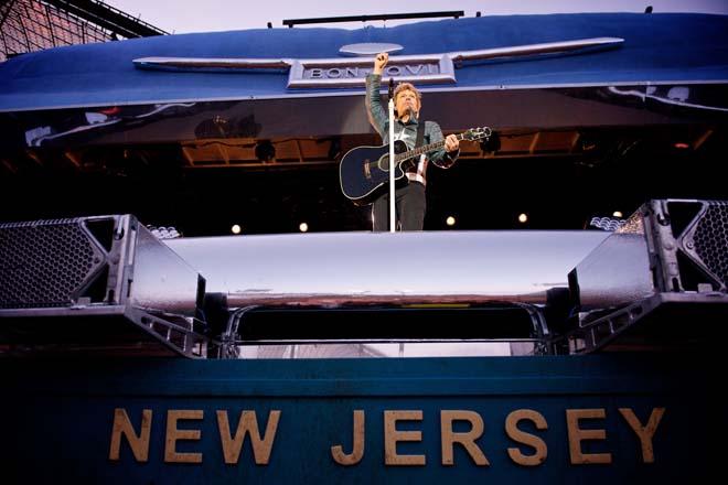 Bon Jovi - New Jersey - Live Press Shot (Munich) (Credit: David Bergman | TourPhotographer.com)