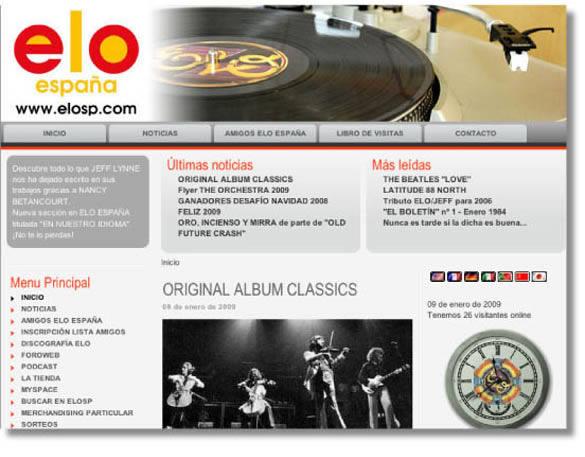 La Web de la Semana  ELO España. Todo sobre la banda de Jeff Lynne 48ebdb60db7